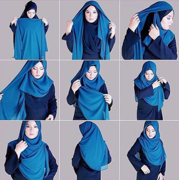 Pecinta Hijab Tutorial Hijab Pashmina Ria Ricis