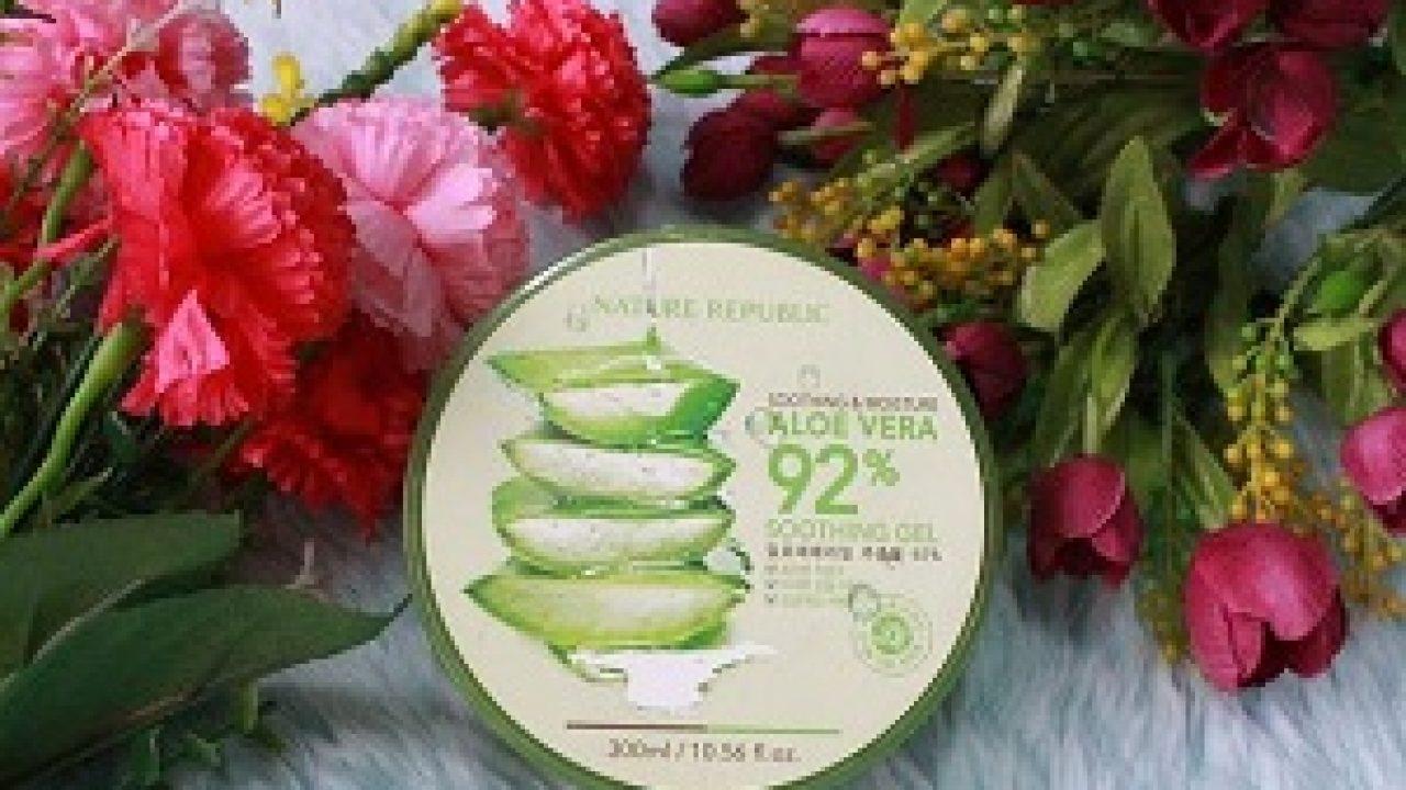 Https Klubwanita Com Cara Pakai Nature Republic Aloe Vera Untuk Jerawat