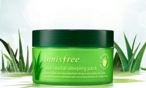 manfaat innisfree aloe revital sleeping pack