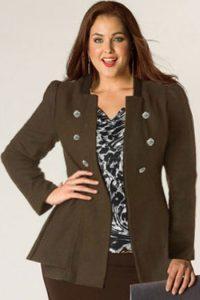 model blazer wanita gemuk