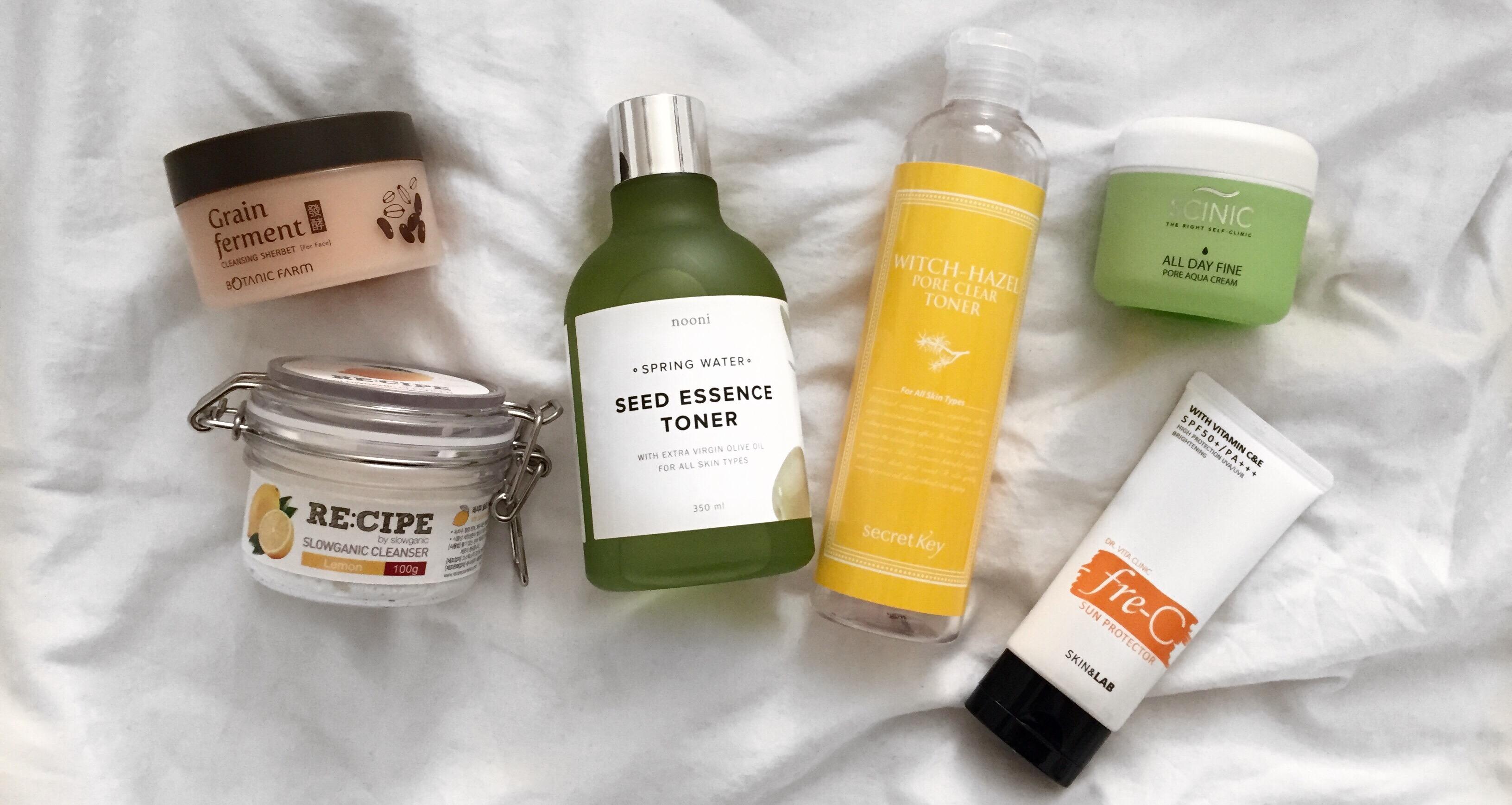 Tahap Korean Skincare Routine
